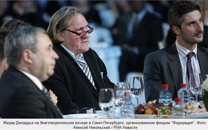 Жерар Депардье получил российское гражданство (15 фото)