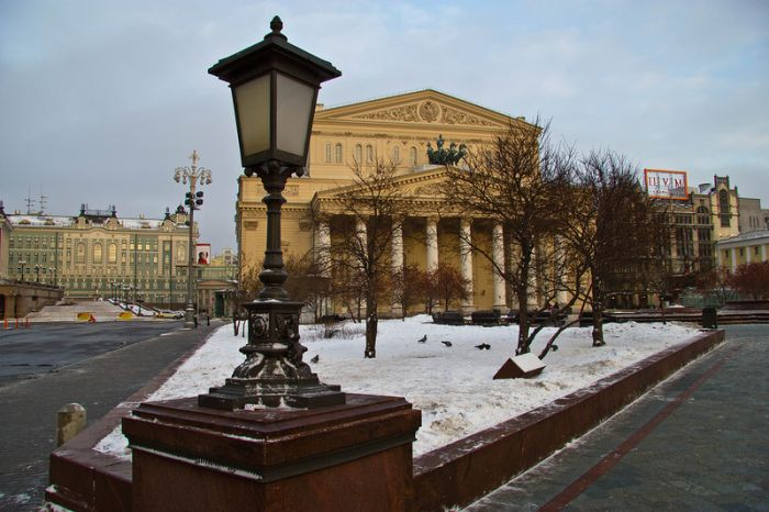 Москва рано утром 1го января 2013 года (20 фото)