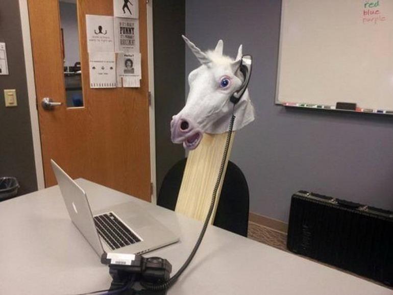 Забавные снимки, сделанные на рабочем месте