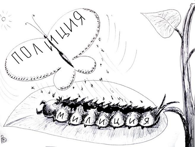 Веселые карикатуры Валерия Каненкова.