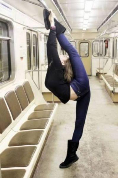 Невероятно гибкие люди (35 фото)