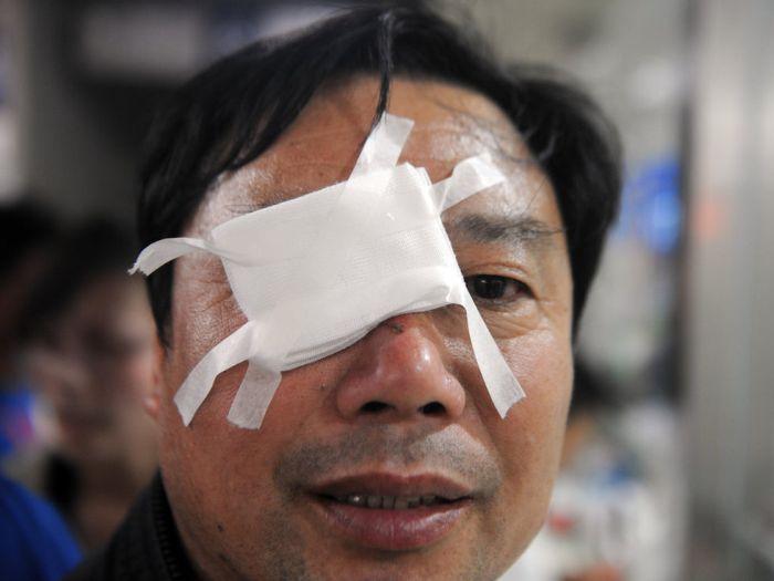 Советую вам не покупать китайские фейерверки (9 фото)