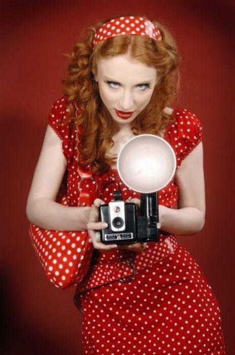 Девушки в рыжими волосами (34 фото)