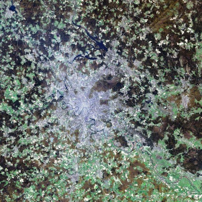 Удивительные снимки с орбиты Земли (57 фото)