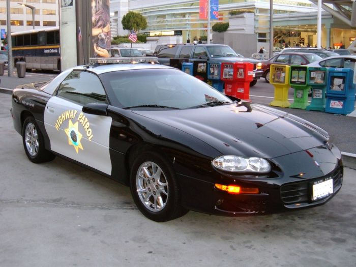 Полицейские автомобили разных стран мира (67 фото)