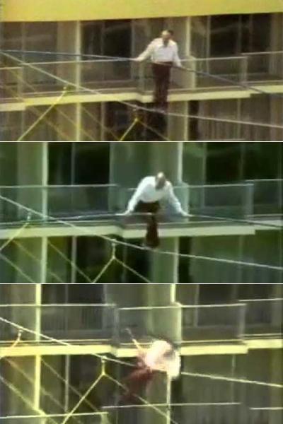 Из-за сильного ветра, скорость которого превышала в тот день 13,3 м/сек, трюкач не удержался и сорвался с каната. Его падение и смерть запечатлела съемочная группа из WAPA-TV, Сан-Хуан. Ныне дело отца продолжает сын Карла, канатоходец Ник Валленда (Nik Wallenda).