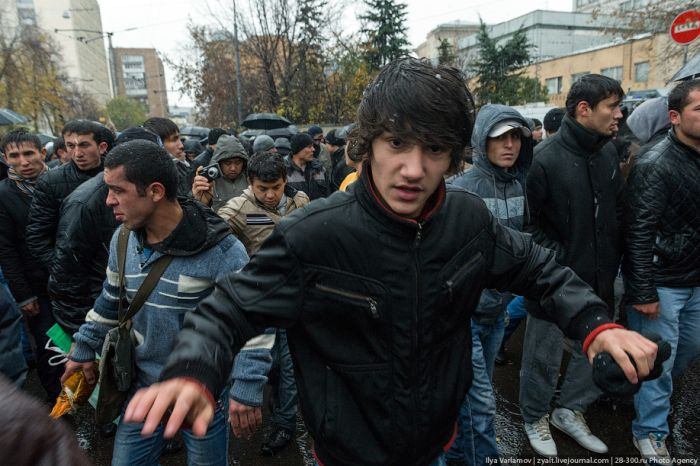 Как в Москве прошел Курбан-байрам (43 фото)