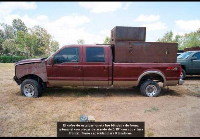 Нарко-автомобили мексиканских картелей (33 фото)
