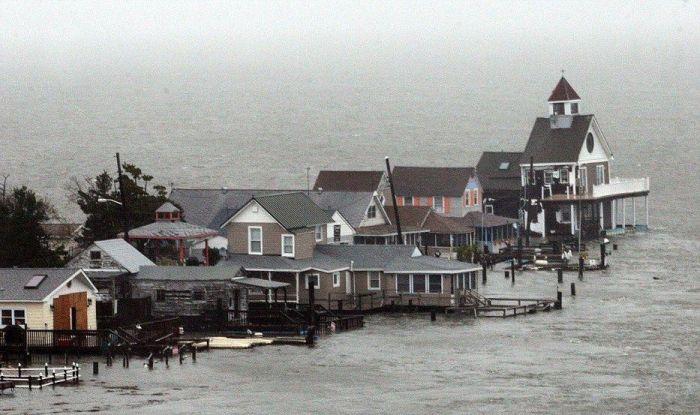 """Разрушения от урагана """"Сэнди"""" (173 фото)"""