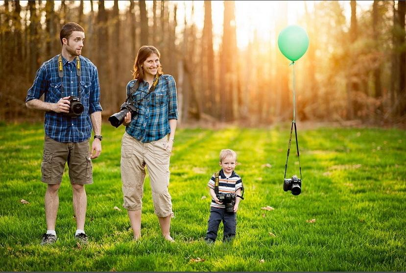10 идей для запоминающихся семейных фотографий