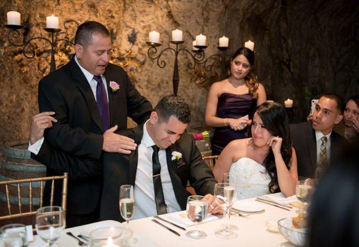 Снимки, сделанные в день свадьбы (46 фото)
