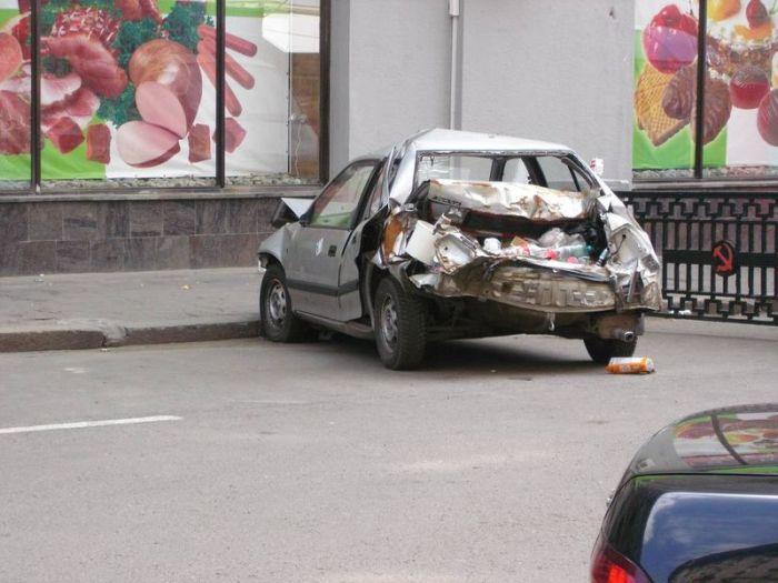 Приколы на дорогах нашей страны (25 фото)