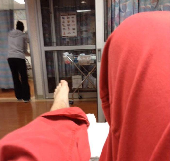 Жесткий случай во время спарринга по каратэ (11 фото + видео)