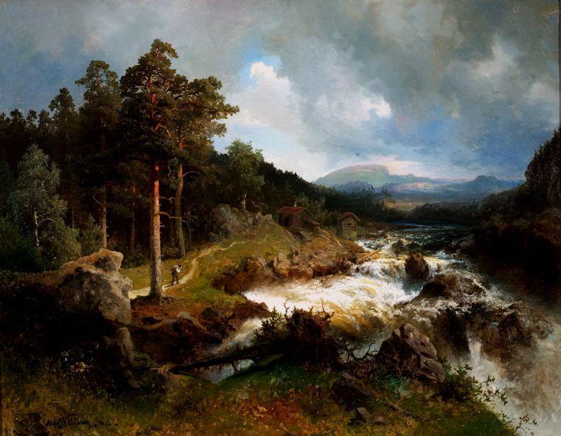 Шведский художник Альфред Валберг (14 фото)