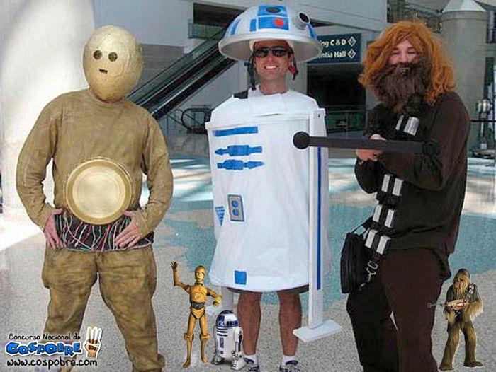 Странные и нелепые костюмы в стиле косплей (45 фото)