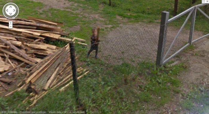 Скандальное открытие Google Maps Street View в Литве (47 фото)