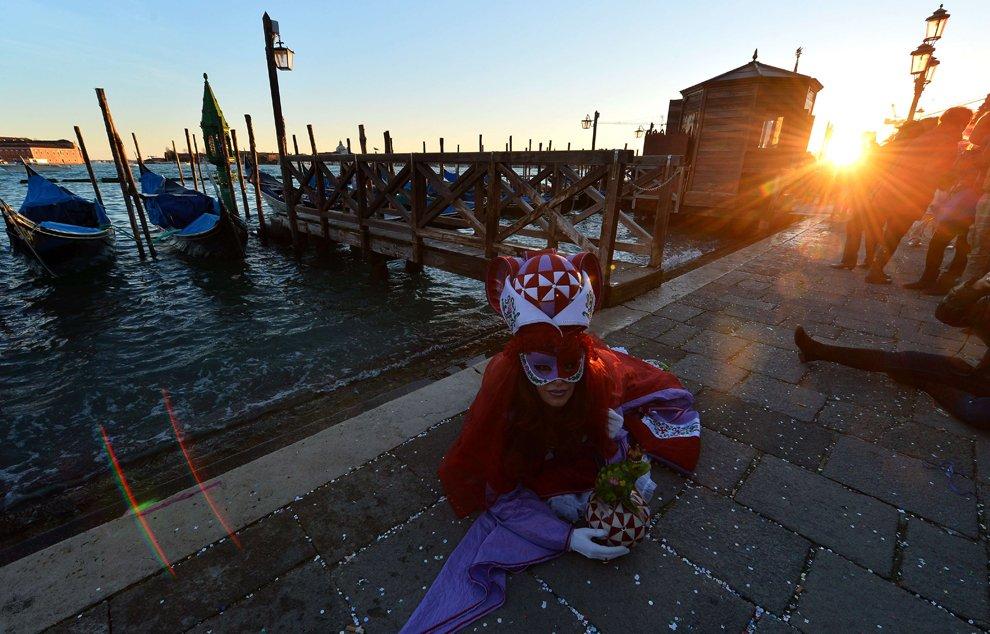 Костюмы Венецианского карнавала 2013
