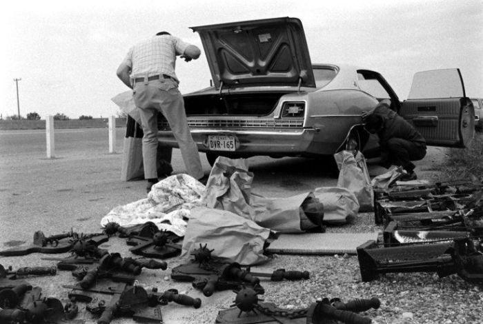 Нарковойна в Мексике в середине прошлого века (31 фото)