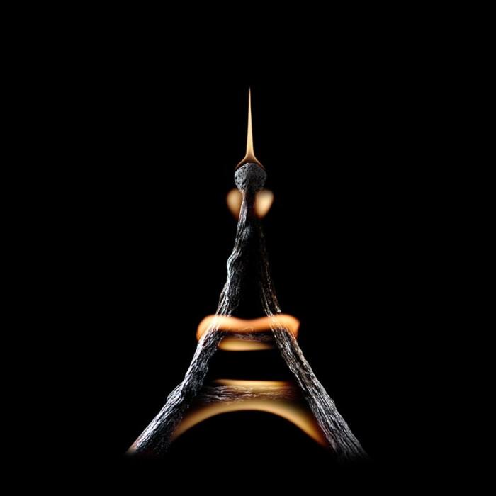 Искусство сожженных спичек в творчестве Станислава Аристова (25 фото)