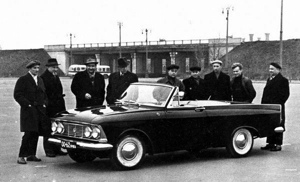 Купе-кабриолет Москвич-408 «Турист» (6 фото)