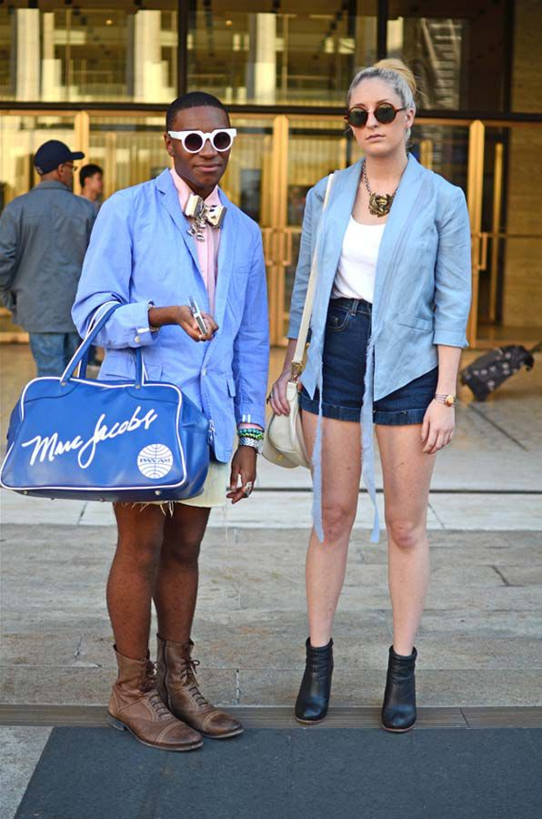 модники и модницы