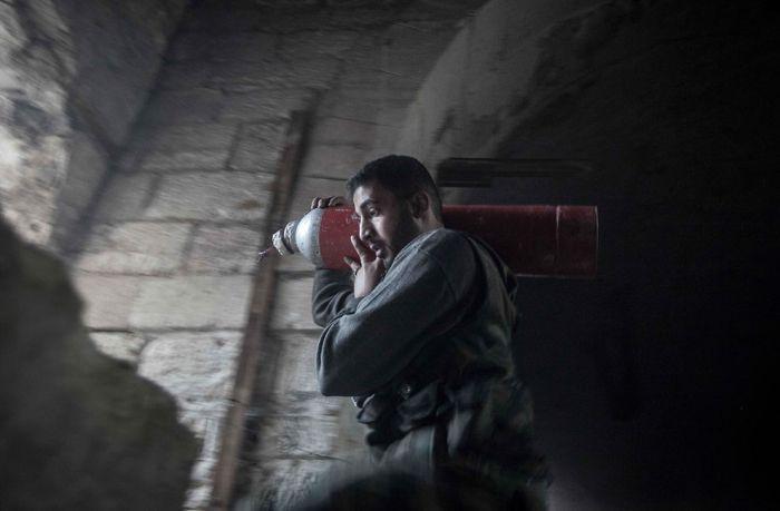 Оружие сирийских повстанцев (38 фото)