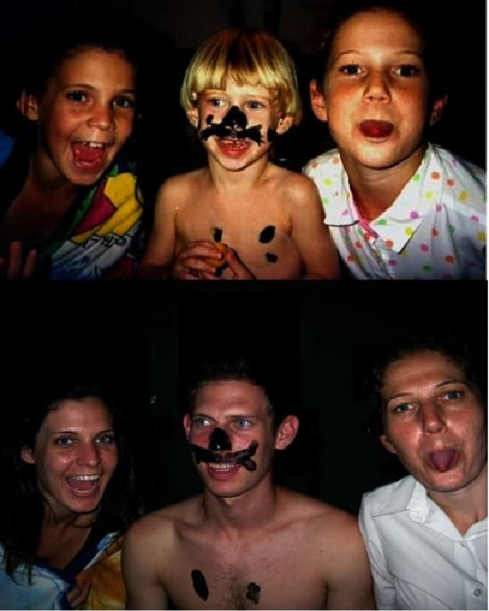В детстве и сейчас (40 фото)