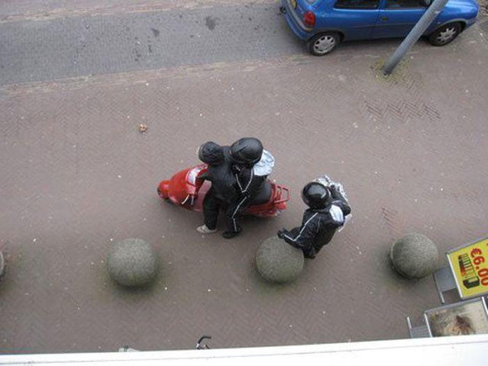 Неудачное ограбление (16 фото)
