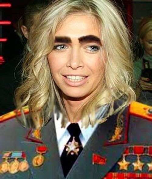 Смешные скрещивания российских и зарубежных знаменитостей (49 фото)