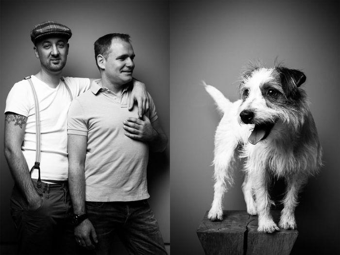 Люди и их домашние любимцы (20 фото)