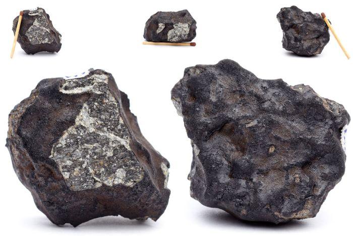 Первые фотоснимки знаменитого челябинского метеорита (7 фото)