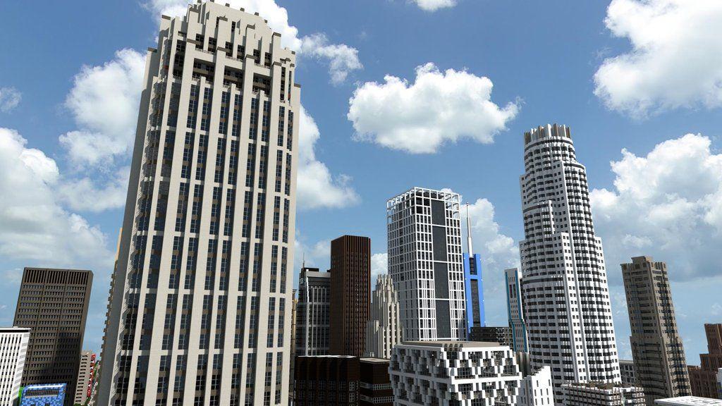 Великолепный Minecraft City