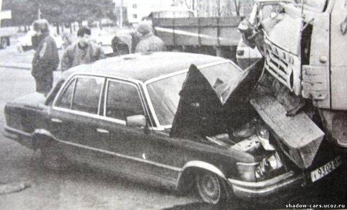 Подборка фотоснимков ДТП во времена Советского Союза (42 фото)