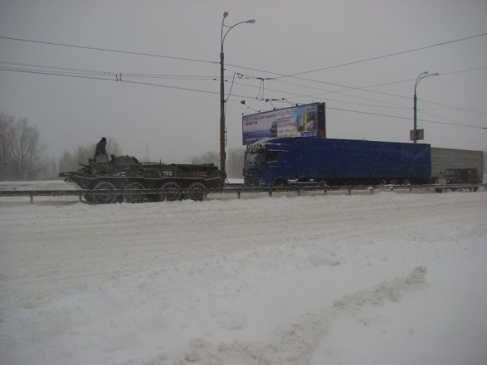 Сильнейший снегопад парализовал Киев на несколько дней (90 фото + видео)