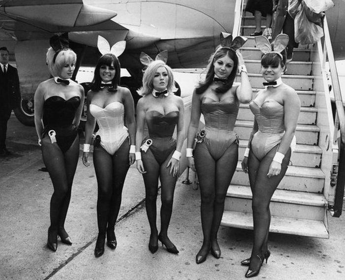 Винтажные девушки из Playboy (50 фото)