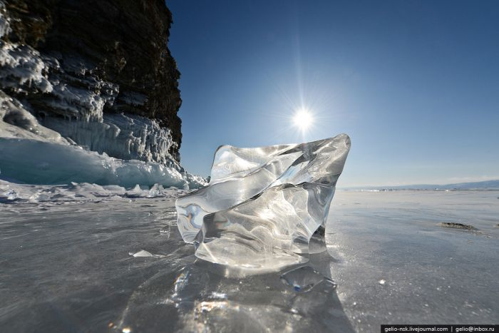 Сказочный зимний Байкал (76 фото)