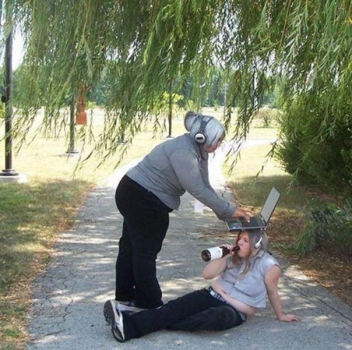 Странные люди из социальных сетей (60 фото)