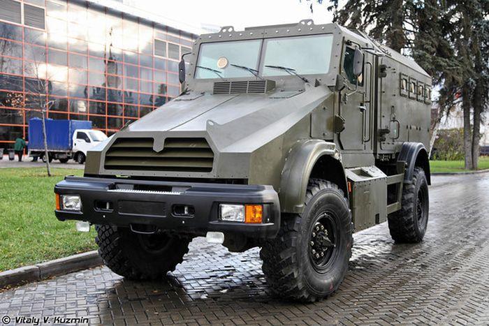 Спецавтомобиль Горец-К (22 фото)