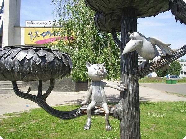 Памятник «Котенок с улицы Лизюкова в Воронеже»