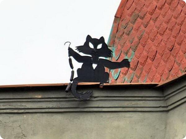 Памятник «хвостатый вор» в Одессе