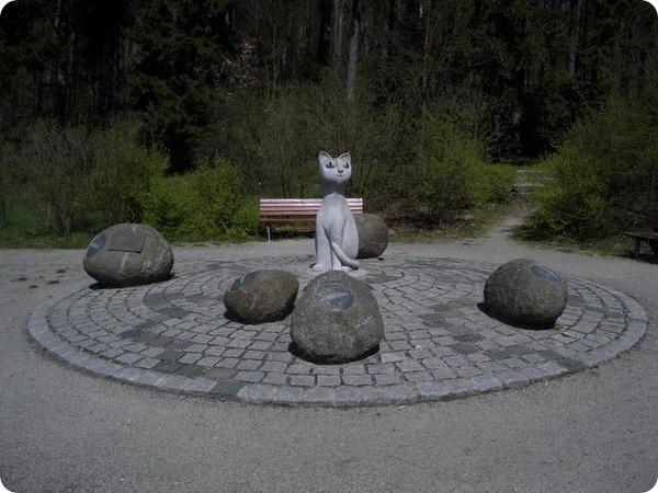 Памятник «Кошачий глаз», Германия