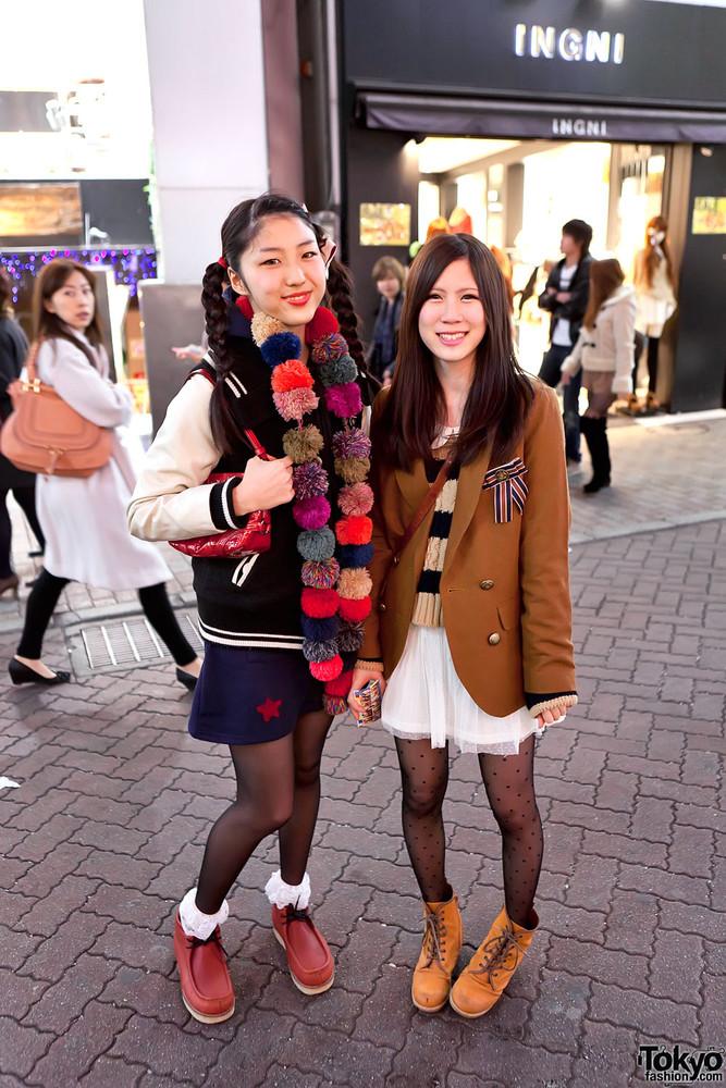 Токийская Уличная мода