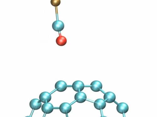 В микроскоп IBM видно даже межатомные связи в молекуле