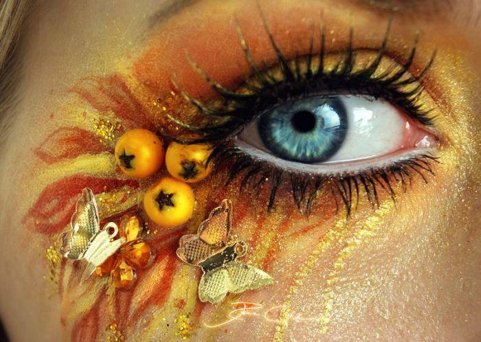 Невероятно красивый макияж (25 фото)
