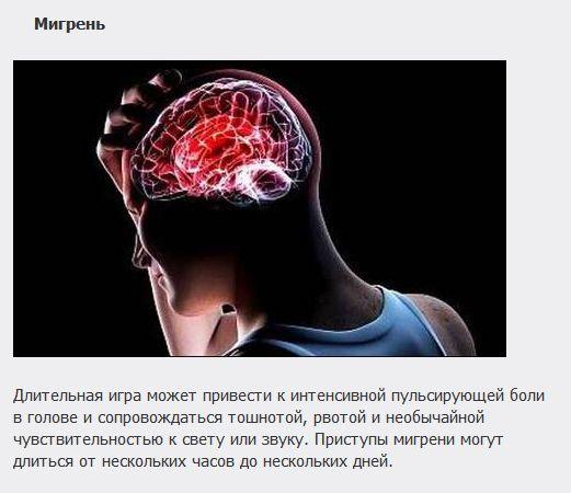 ТОП-10 заболеваний, которым подвержены геймеры (10 фото)