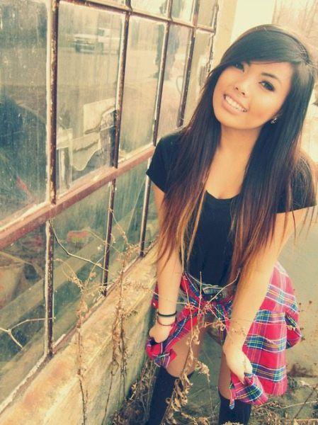 Симпатичные азиатки.  (50 фото)