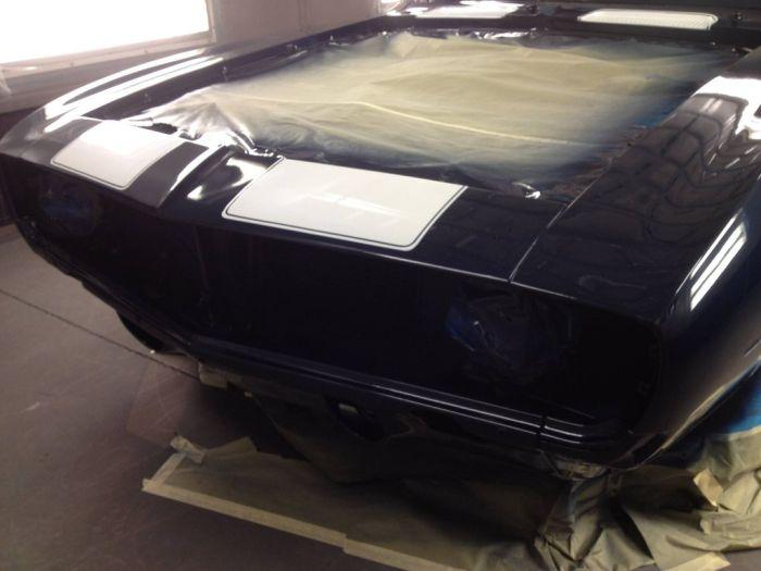 Перевоплощение классического авто в агрессивный мускул-кар (54 фото)