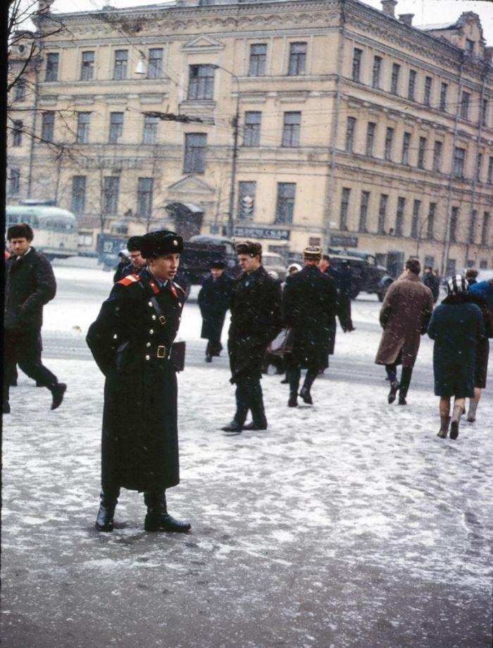 Удивительные снимки старой Москвы (33 фото)