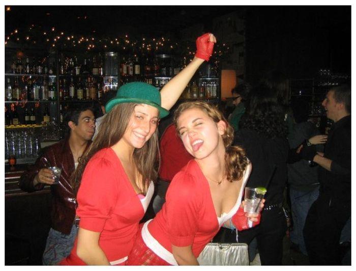 Девушки, которые любят выпить (51 фото)