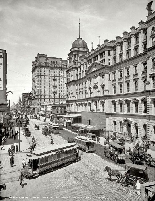 Крупнейшие города Америки столетие назад (34 фото)